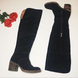 Lucky Brand Thigh Hi Over the Knee Riding Boots